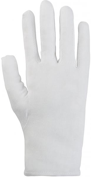 Korsar Trikot extrafein weiß Baumwollhandschuhe