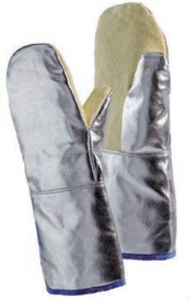 JUTEC Faust-Hitzeschutzhandschuh H111A240-W2 Länge 40 cm bis 250°C